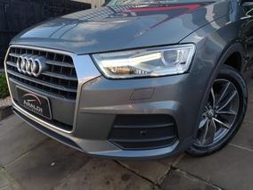 Audi Q3 1.4 Tfsi S-tronic 2017 Cinza Flex
