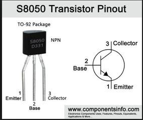 5x Transistor S8050 Npn