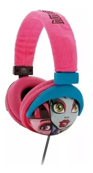 Fone De Ouvido Multikids Headphone Monster High P2 - Ph107 -
