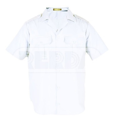 Camisa Manga Corta Cuello Solapa Rerda T: 34-44