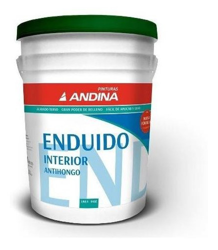 Enduido Int Andina Antihongo 20lt - 18 Cuotas S/int