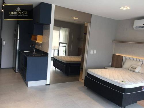 Apartamento Com 1 Dormitório À Venda, 38 M² Por R$ 668.000,00 - Campo Belo - São Paulo/sp - Ap50147