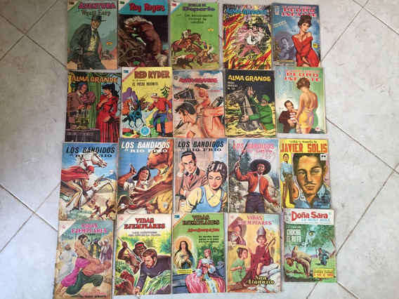 Lote De 20 Comics Antiguos