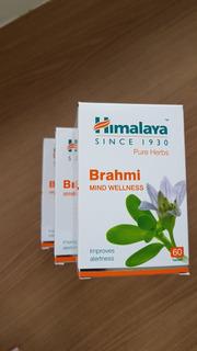 Brahmi 250 Mg- Potencializador De Memória Ayurvédico