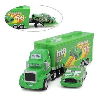 Cars Pixar Camión Mack + Rayo Mcqueen
