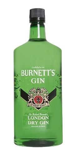 Gin Burnetts 750ml London Dry Gin /original Sellado