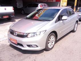 Honda Civic 2014 Lxr Automatico Completo