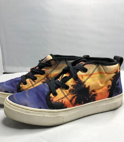Zapatillas Tipo Botita Aldo Multicolor Talle 6.5 Usa