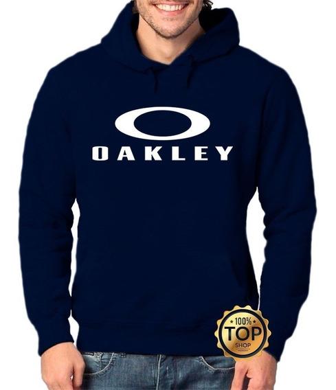 Blusa Moletom Oakley Com Letras De Frio Moleton Casaco