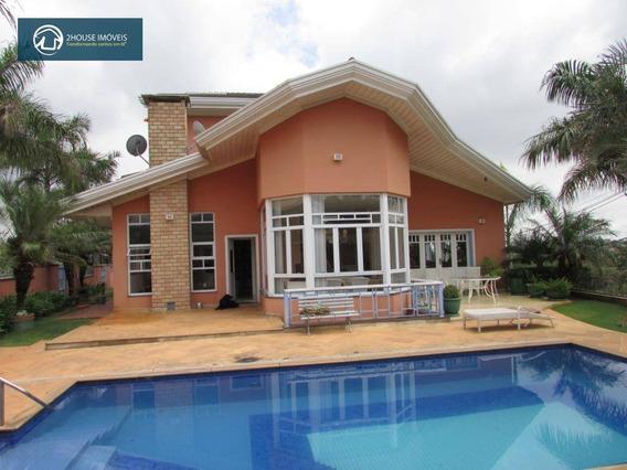 Casa Com 7 Dormitórios À Venda, 1000 M² Por R$ 3.200.000,00 - Chácara Malota - Jundiaí/sp - Ca1882
