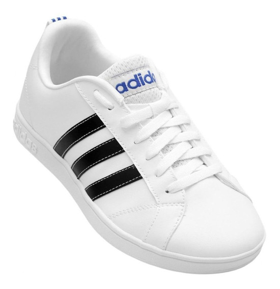 Tênis adidas Vs Advantage - Masculino - Branco/preto