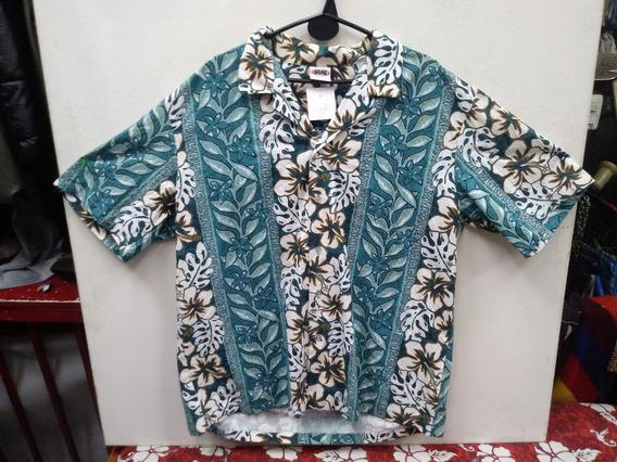 Camisa Hawaina Flores Xl N 972