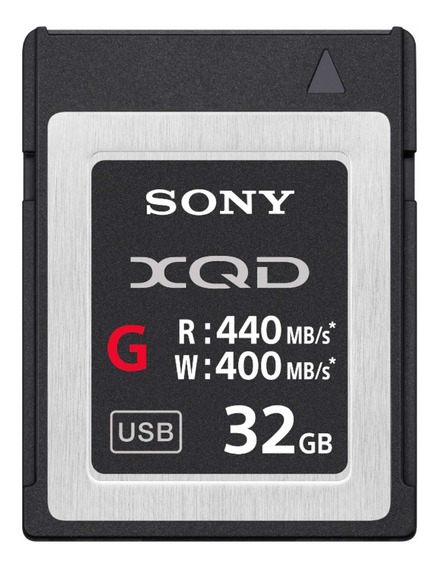 Cartao De Memoria Sony 32gb Xqd G Series