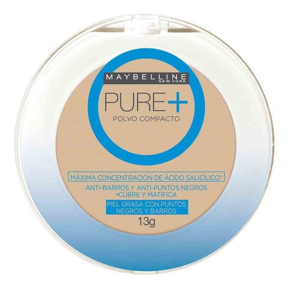 Maybelline Pure Make Up Plus Polvo Compacto