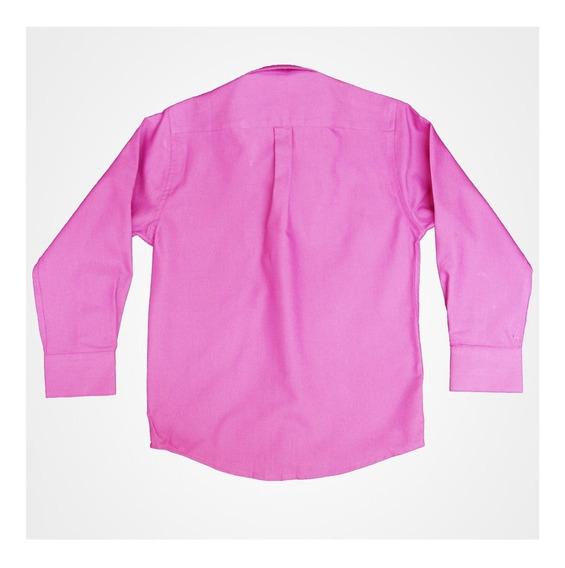 Camisa Lisa Manga Larga De Vestir Para Niño Oscar Rosali