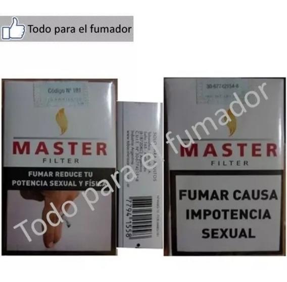 5 Cartones De Cigarrillos Master