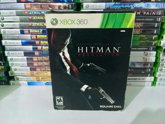 Hitiman Absolution Professional Edition Box Para Xbox 360