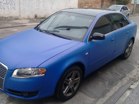 Audi A4 1.8 Exclusive Turbo Multitronic 4p Azul Envelopado