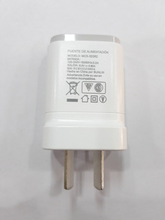 Cargador Original LG Blanco 1.2amp K9 K11