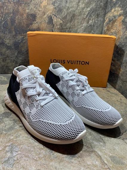 Sneakers Louis Vuitton Damier Fastlane White, Envío Gratis