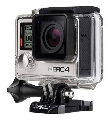 Câmera Go Pro Hero 4 Silver + Acessórios Originais