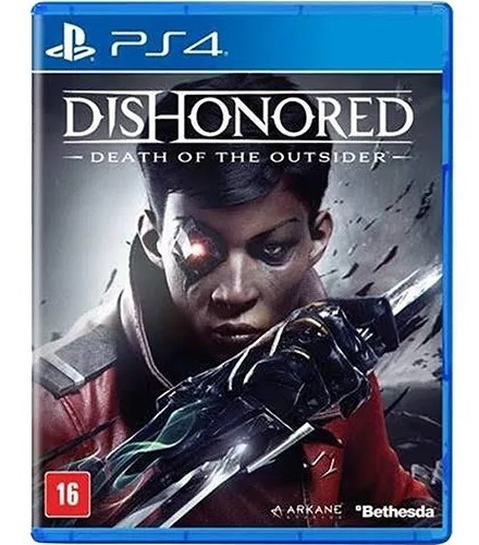 Jogo Playstation 4 Dishonored Death Of The Outsider Novo