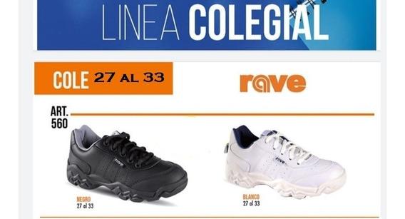 Zapatillas Colegiales Negras Y Blancas Deportivas