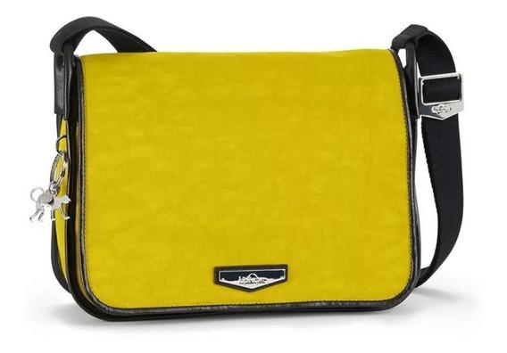 Bolsa Kipling Luxeables Mustard Yellow