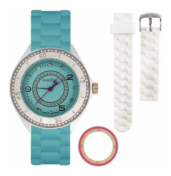 Reloj Original Dama Marca Nine2five Modelo Avta13azaz