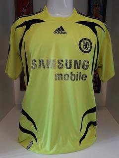 Camisa Chelsea adidas Verde Limao