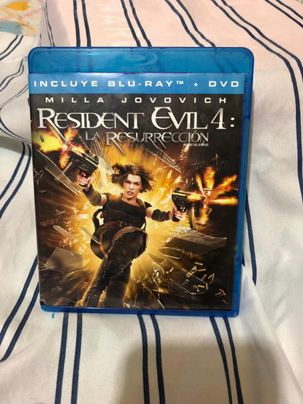 Resident Evil 4 Afterlife La Resurrección Blu-ray