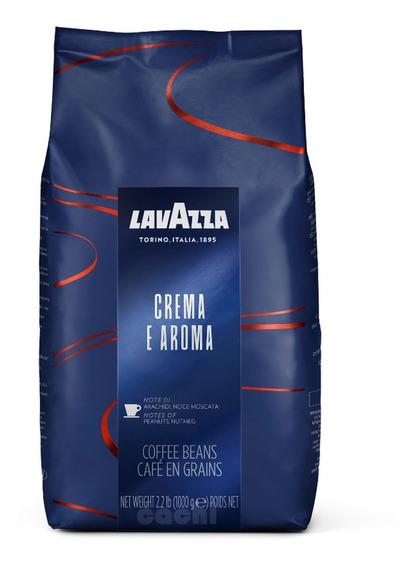 Cafe Lavazza Italiano En Grano Crema E Aroma 1kg
