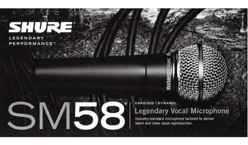 Micrófono Shure Sm58 + Envío Gratis!!