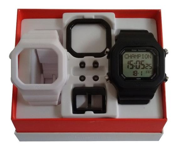 Relógio Original Champion Yot Cp40180x N.f. Cx