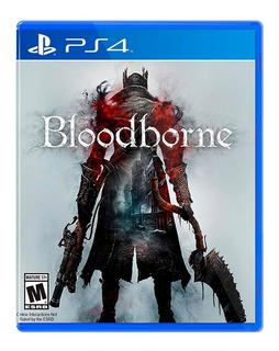 Juego Bloodborne Ps4 Fisico Sellado Nuevo Original Garantia