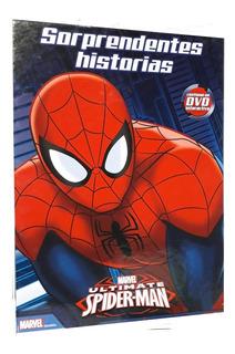 Libro Sorprendentes Historias Spiderman Hombre Araña Regalo