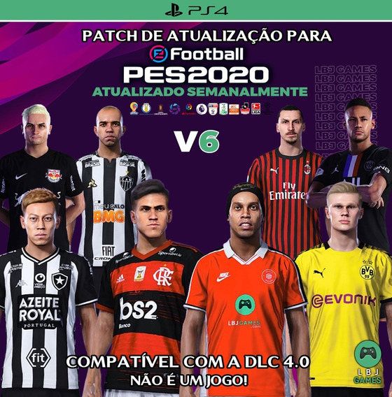 Patch Option File P/ Pes 2020 Do Ps4