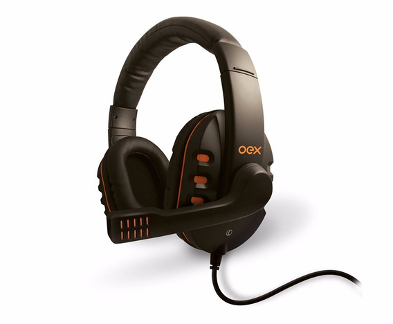 Fone De Ouvido Headset - Microfone Alta Definição Hs200 Oex