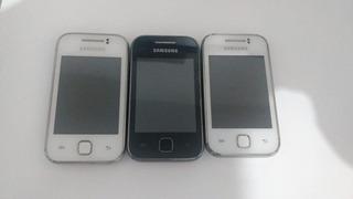 Lote De Celulares Smartphone Samsung Y Gt S 5360b (10 Peças)