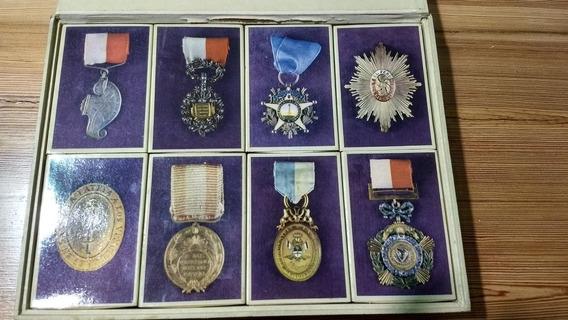 Colección Fósforos Condecoraciones Guerra Independencia