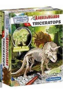 Juego Arqueojugando Triceraptors - Clementoni