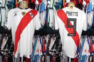 River Plate 2018 Camisa Titular Tamanho Gg Número 9 Pratto.