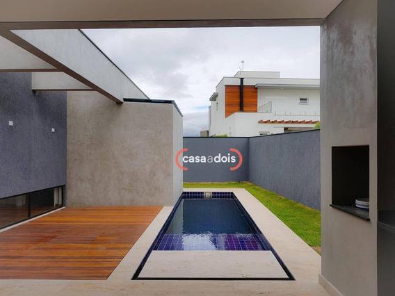 Casa Com 3 Dormitórios À Venda, 236 M² Por R$ 1.450.000,00 - Alphaville Nova Esplanada Iii - Votorantim/sp - Ca0576