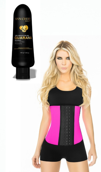 Ann Chery 2023 Cinturilla De Látex Con Guaraná Slimming Gel.