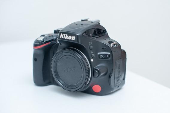 Nikon D5100 Seminova 24k De Clicks