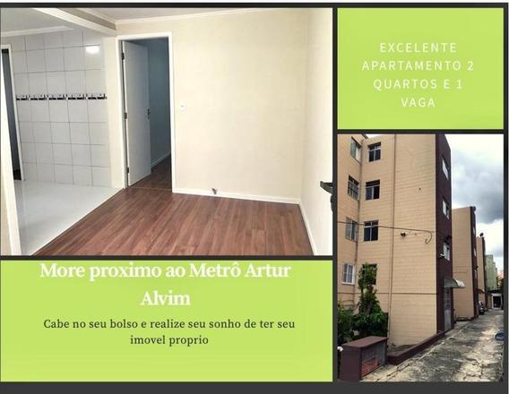 Apartamento Médio Artur Alvim - Recém Reformado 02 Dorms