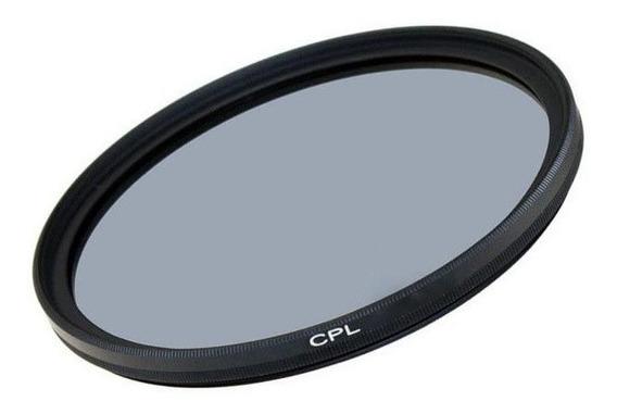 Filtro De Lente Polarizador 49mm Cpl Greika
