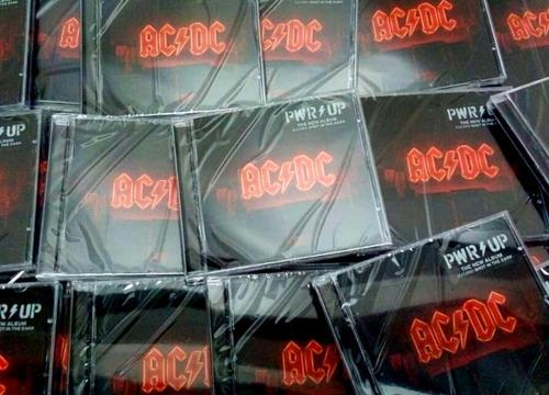 Ac/dc - Power Up Cd Nuevo 2020 Caja Acrílica