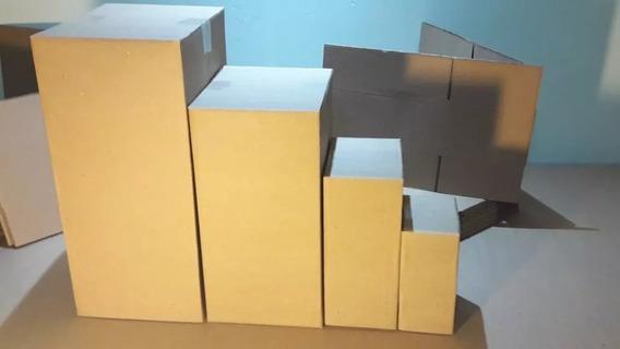 Kit Caixa De Papelão Correios Sedex Pac Média C/100 Unidades