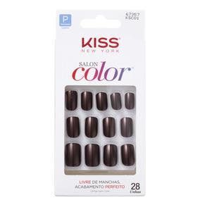 Kiss New York Salon Color Vanity Unhas Postiças Blz